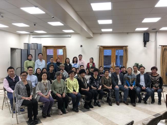 紐約中國戲劇社90周年,與香港演藝學院學生同台獻藝。(記者張晨/攝影)
