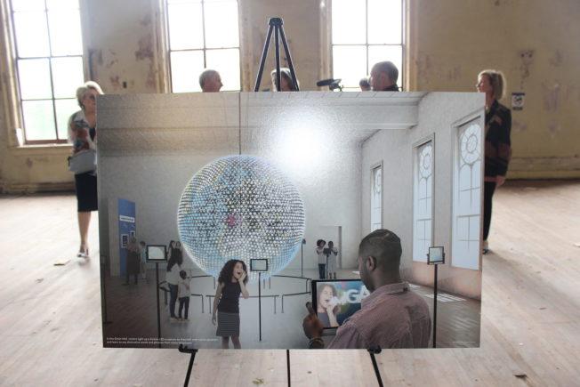 世界文字博物館運用科技,提供多種沉浸式和互動式的作品,啟動觀眾的多種感官(取自WAMU)
