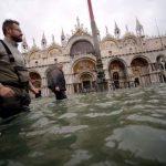 水災加劇逢滿潮 威尼斯聖馬可廣場關閉