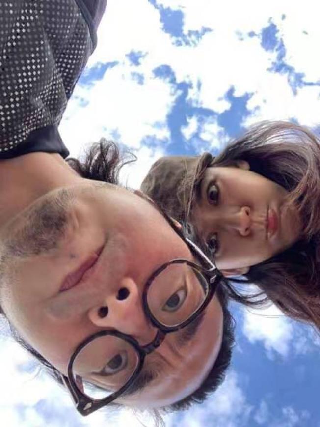 陳意涵與老公許富翔拍完真人秀《幸福三重奏2》之後,最近在青島忙於拍攝新電影。(圖:經紀人岳潼提供)
