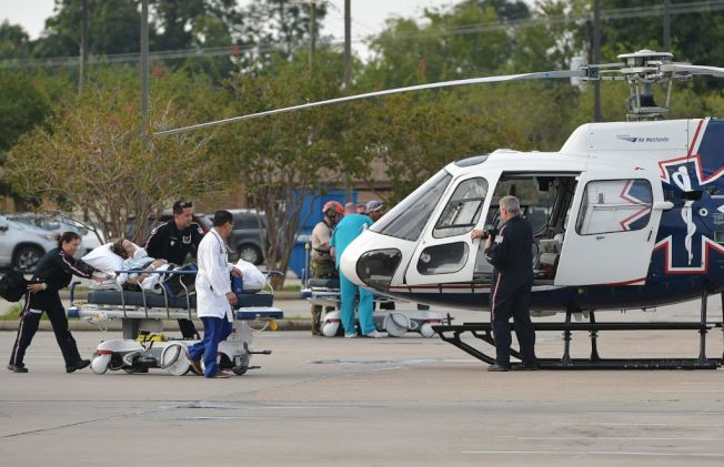 救護直升機收費昂貴,若是保險不包,當事人會收到天價帳單。(Getty Images)
