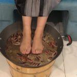 重慶火鍋好吃還能幹啥?拿來足療:腳不辣