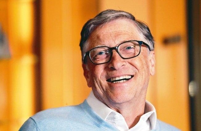 微軟共同創辦人比爾蓋茲重新成為世界首富。(美聯社)