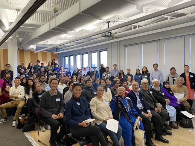 逾50個亞太裔社區組織參加人口普查討論會。(記者金春香/攝影)