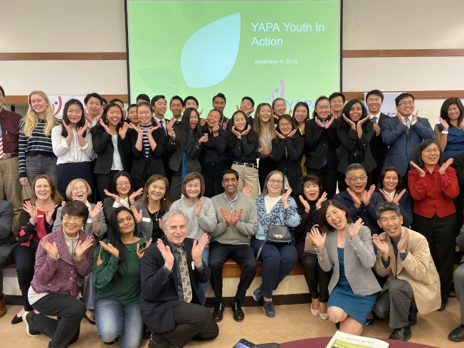 YAPA舉辦特會,讓學生分享各自的研究成果,並邀請羅康納擔任講者,並與學生對談。(記者林亞歆/攝影)