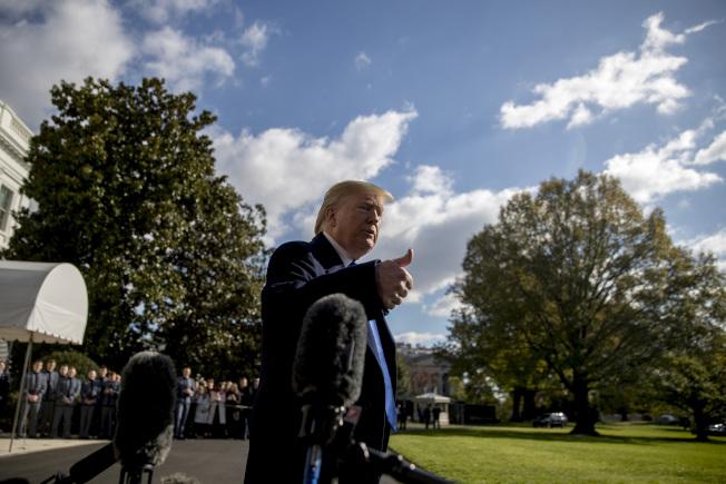 前駐烏大使尤凡諾維契作證時,川普總統推文砲轟,被民主黨批評是「恫嚇證人」。(美聯社)