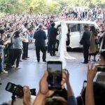 〈最美圖輯〉一定要幸福!林志玲挽著父親的手 婚禮狂哭