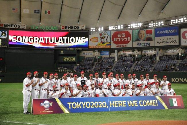 墨西哥奪下2020東京奧運門票。美聯社