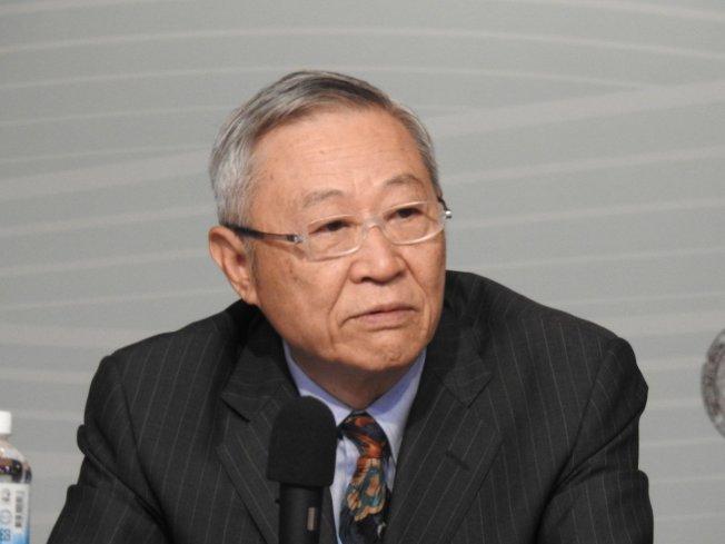淡江大學中國大陸研究所榮譽教授趙春山。記者林宸誼/ 攝影