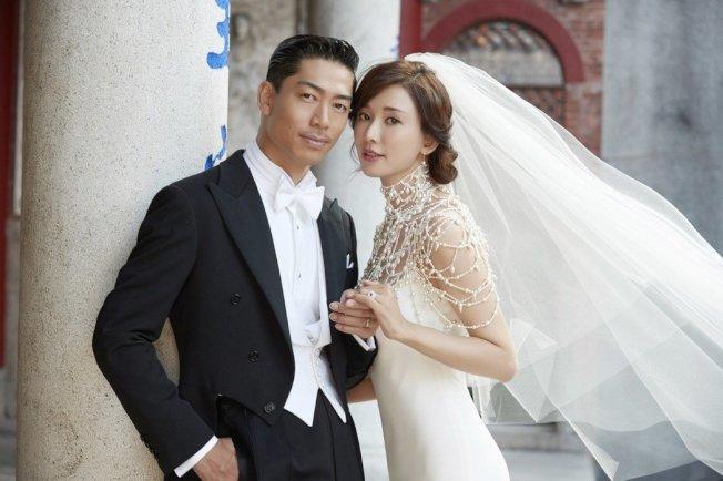 林志玲今天舉行世纪婚禮  圖/LDH提供