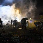 〈直播〉港理大氣氛肅殺 警方首度稱不排除實彈還擊