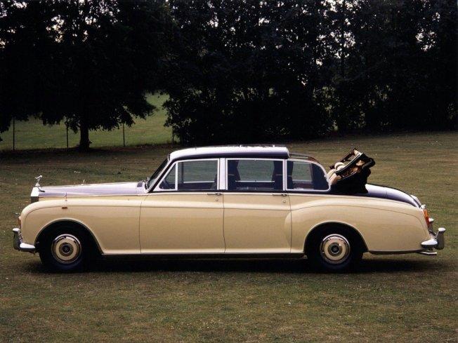 Phantom VI Landaulettes,全球限量僅三輛。圖/摘自zh.wheelsage.org