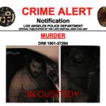 上周五洛杉磯華埠附近駕駛被殺案嫌犯被捕