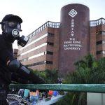 〈直播〉港警民理大外激戰 駐港解放軍戒備 學生錄影求助