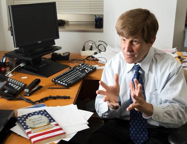 美國美利堅大學歷史學教授李奇曼。圖╱GettyImages