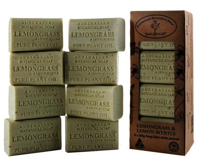 「澳洲製植物精油香皂 8 入」可有效清潔肌膚。圖/取自Costco線上購物網站
