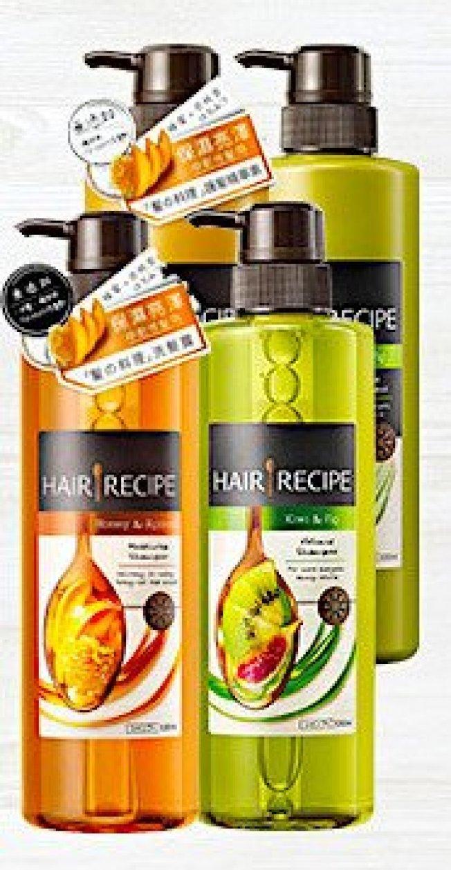 「Hair Recipe蜂蜜杏桃洗髮精」深受女性粉絲喜愛。圖/取自PChome 24h購物
