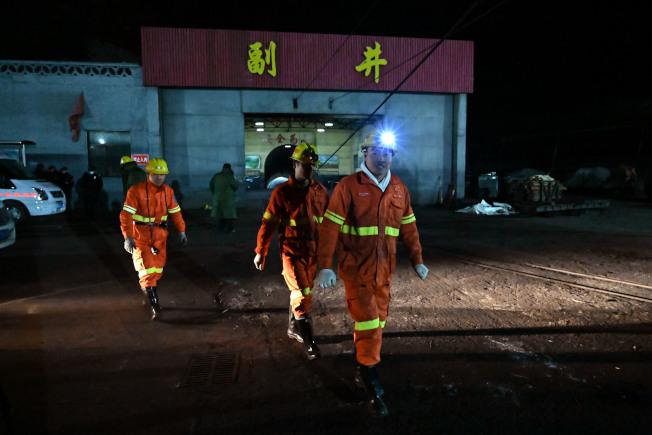 山西平遥一煤矿瓦斯爆炸事故16人被困井底