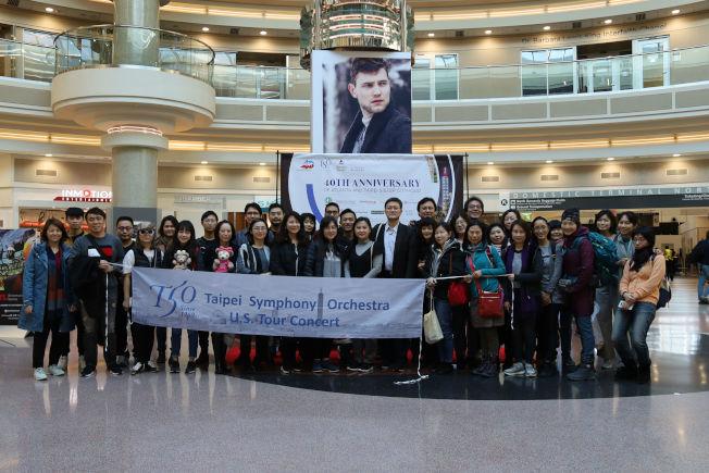 台北市立交響樂團扺達美國亞特蘭大機場。(記者陳淑玲/攝影)
