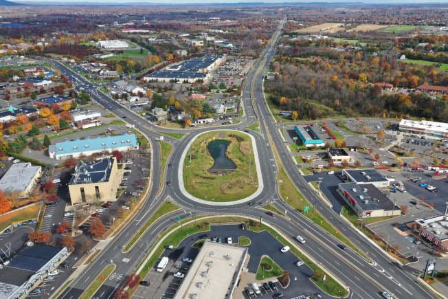 新州危險公路及路段,許多與車流量及路口數量相關。(取自新州交通廳臉書)