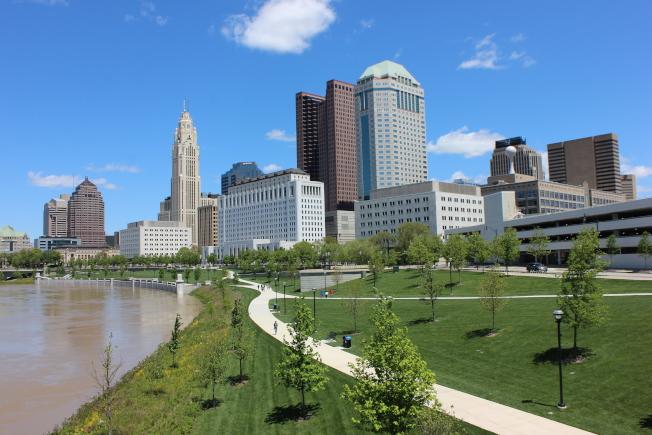 在俄亥俄州哥倫布市,489元可租到一臥公寓。(Mark Downey攝影、本報檔案照)