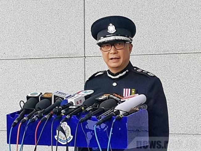 鄧炳強對不法之徒罔顧法治感哀傷,會繼續承擔支持執法。(取材自香港電台)