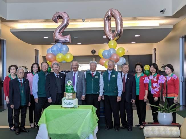 糖城(Sugar Land)恆豐銀行分行慶祝20周年。(記者蕭永群/攝影)
