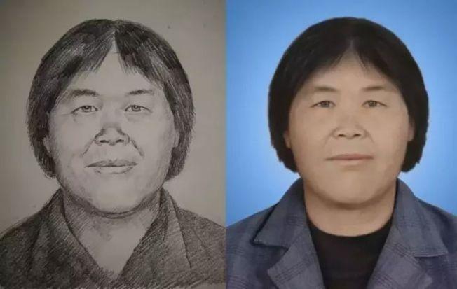 公安部稱,網絡上流傳的「梅姨」畫像非官方信息。(取材自新京報)