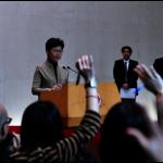 香港區議會選舉在即 特首稱每日評估能否如期舉行