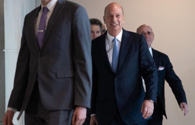 川普彈劾調查公開聽證第二周,關鍵證人之一是美國駐歐盟大使桑德蘭(Gordon Sondland)。(Getty Images)