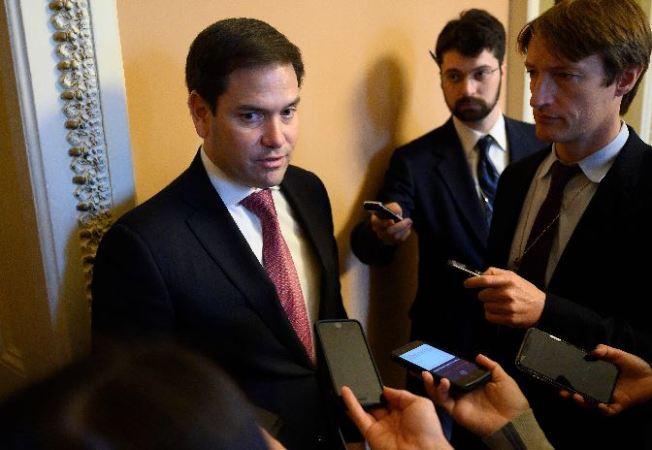 參議員魯比歐(左)。(Getty Images)