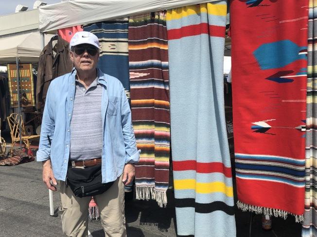 市集的創始人Donald Moger。(記者張宏/攝影)