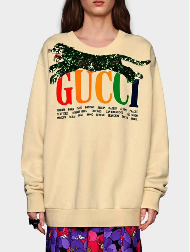 Gucci運動衫。(Ssense.com)