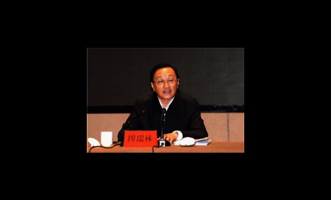 江蘇原副省長繆瑞林是中共19大後江蘇「首虎」。(取材自澎湃新聞)