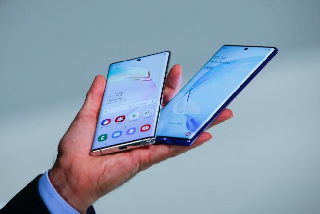 三星未來推出的新機,可能不會有Note 10 系列具顛覆性的設計。(路透)