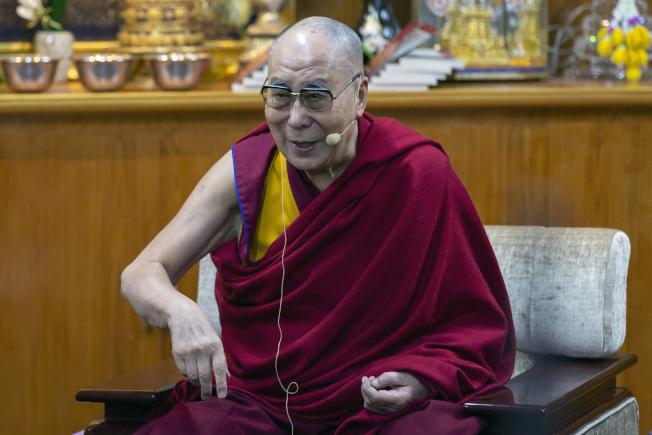 達賴喇嘛。美聯社