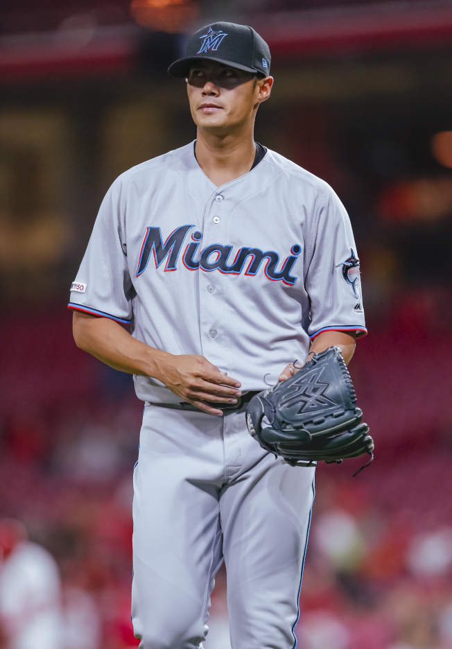 MLB/被移出40人名單馬林魚指定讓渡陳偉殷