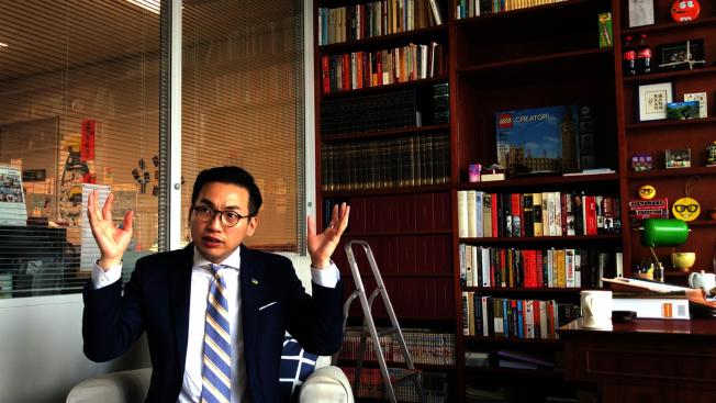 香港立法會議員、公民黨黨魁楊岳橋痛斥律政司的做法只會加深民怨。(本報資料照片)