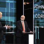 英國大選首場激辯 強生、柯賓難分軒輊
