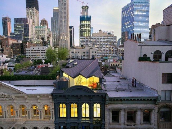 研究顯示,在全美125個最昂貴的郵區之中,紐約市占了10個。其中翠貝卡(見圖)的10007中位房價為390萬元,名列第五。(取自推特)