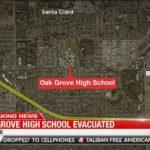 聖荷西一高中首次發現「自製炸彈」 全校驚慌