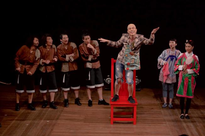 上海戲劇學院創作及演出的音樂劇「阿Q的羅曼史」登陸紐約外百老匯。(上海戲劇學院提供)