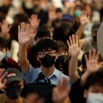 「和理非」連4天 中環快閃 民陣籲12•8 大集會護人權