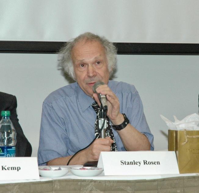 南加州大學政治學教授、中國研究學者駱思典。(本報檔案照)