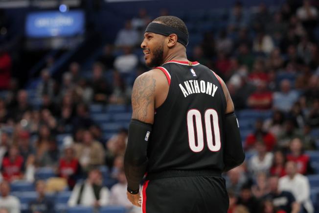 安東尼還需要一點時間,來跟上NBA實戰節奏。(美聯社)