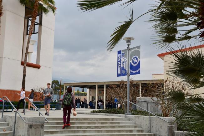 聖瑪利諾高中2019年大學升學率成績喜人。(本報檔案照)