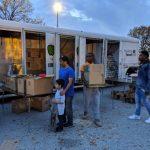 美南大專校聯會送火雞 230個家庭温暖過節