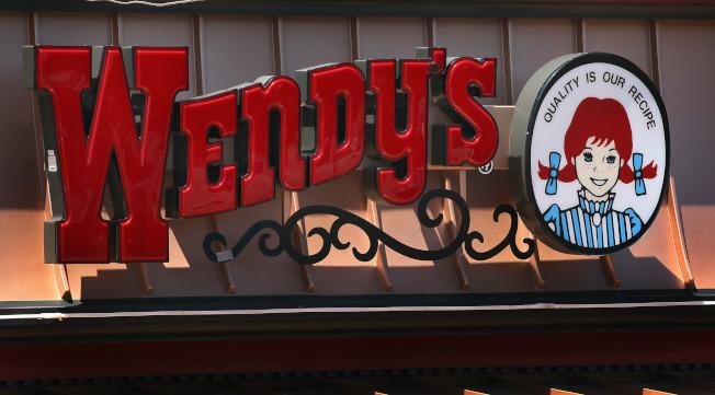 溫蒂漢堡的招牌。(Getty Images)