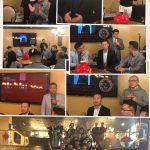 著名的成都大吃八方董事長訪問芝加哥與芝加哥餐飲業者分享做餐飲成功經驗