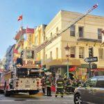 華埠都板街一級火警